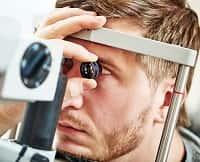Осмотр у офтальмогола