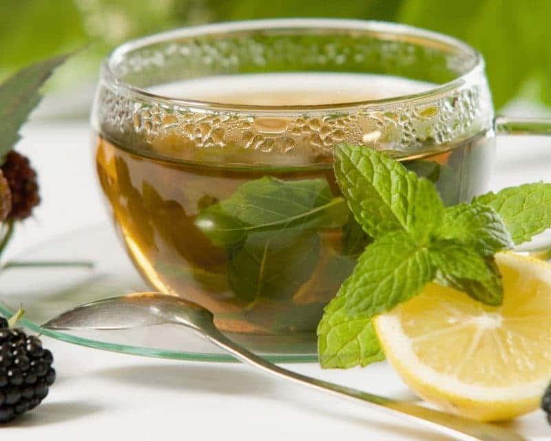 Чай с лимононом