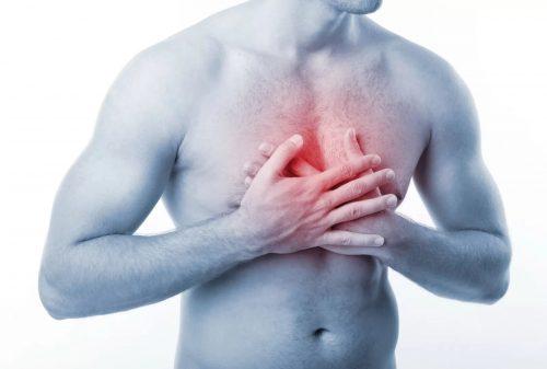 Жжение в грудной клетке