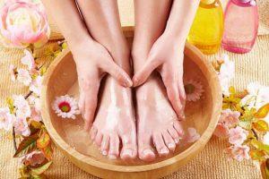 Ванночка, ноги