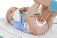 Обработка кожи малыша