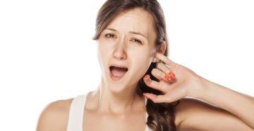 Зуд в ушах причина лечение