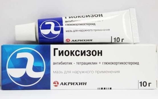 Антибиотик для лечения экземы