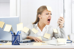 Частые стрессы - причина головокружений