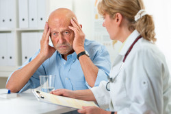 Обращение в больницу при симптомах инсульта