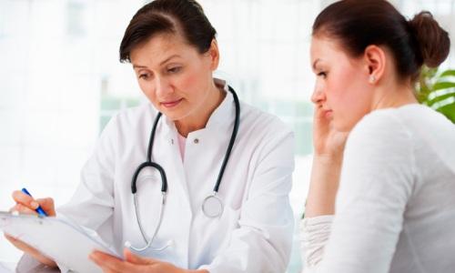 Посещение врача после инсульта