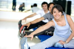 Занятия физкультурой для профилактики ишемии