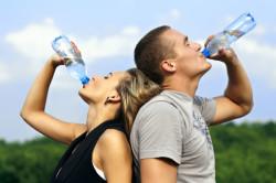 Обильное питье при астме