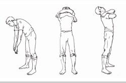 Упражнение из дыхательной гимнастики Стрельниковой