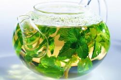 Травяной чай для лечения вздутия