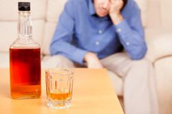 Употребление алкоголя как причина гастрита