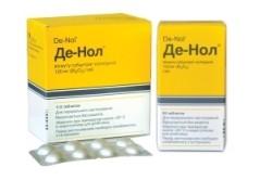 Де-Нол для лечения рефлюкс-эзофагита