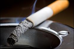 Однократный выброс желчи вследствие курения на голодный желудок