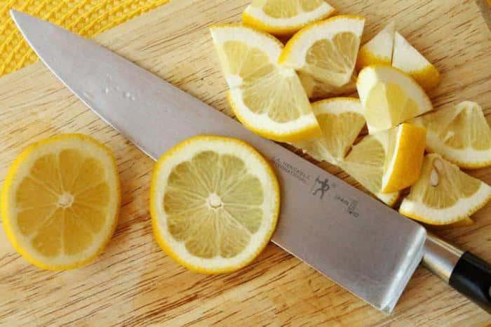 Лимон от грибка ногтей на ногах