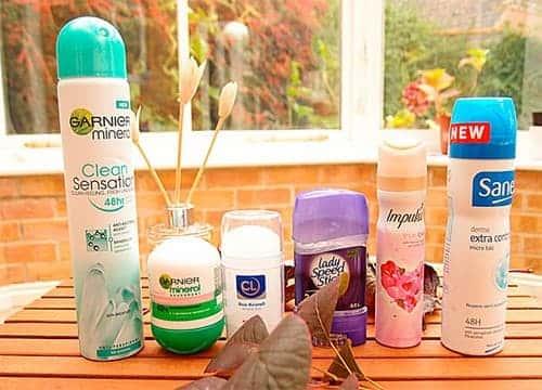 Много дезодорантов
