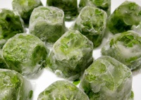 Лед из трав для лица