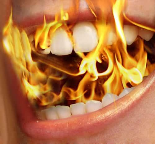 Жжение во рту и на языке