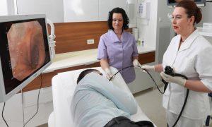 Гастроскопия, врач, пациент