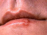 Мужские губы