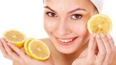 Лимон от пигментных пятен на лице